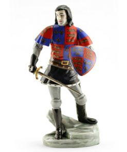 Lord Olivier as Richard III HN2881 - Royal Doulton Figurine