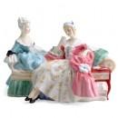 Love Letter HN2149 - Royal Doulton Figurine