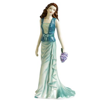 Loving Thoughts HN5266 - Royal Doulton Figurine