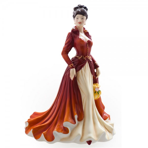 Loving You HN5556 - Royal Doulton Figurine - Sentiments Collection 1