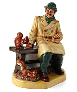 Lunchtime HN2485 - Royal Doulton Figurine