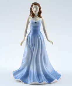 March HN4972 (Aquamarine) - Royal Doulton Figurine