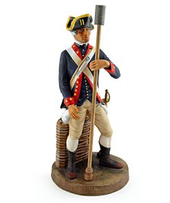 Private, Massachusetts Regiment, 1778 HN2760 - Royal Doulton Figurine