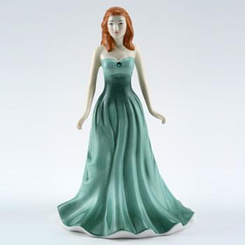 May HN4974 (Emerald) - Royal Doulton Figurine