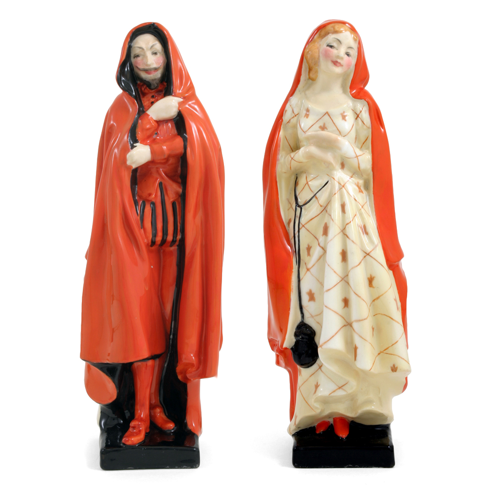 Mephistopheles And Marguerite HN775 - Royal Doulton Figurine