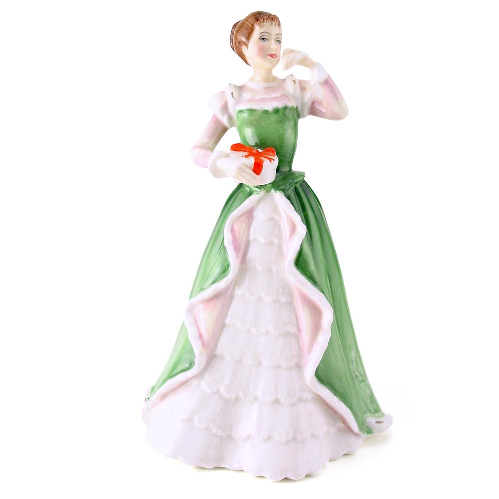 Merry Christmas HN3096 - Royal Doulton Figurine