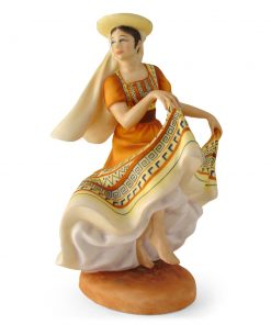 Mexican Dancer HN2866 - Royal Doulton Figurine