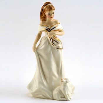 Morning Walk HN3860 - Royal Doulton Figurine