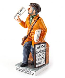 News Vendor HN2891 - Royal Doulton Figurine