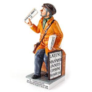 News Vendor HN2891 - Royal Doulton Figurine