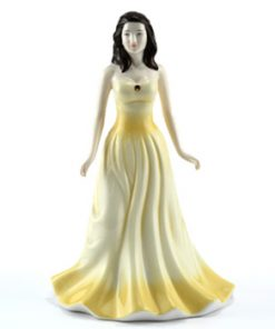 November HN4980 (Topaz) - Royal Doulton Figurine