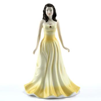 November HN4980 (Topaz) - Royal Doulton Figurine
