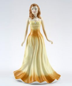 October HN4979 (Opal) - Royal Doulton Figurine