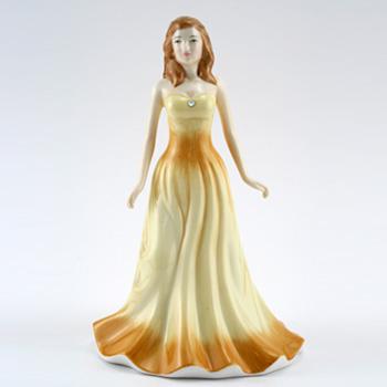 October HN4979 (Opal) - Royal Doulton Figurine