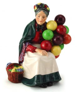 Old Balloon Seller HN1315 - Royal Doulton Figurine