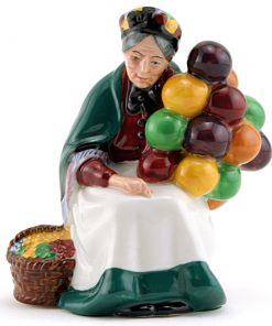 Old Balloon Seller HN2129 - Mini - Royal Doulton Figurine