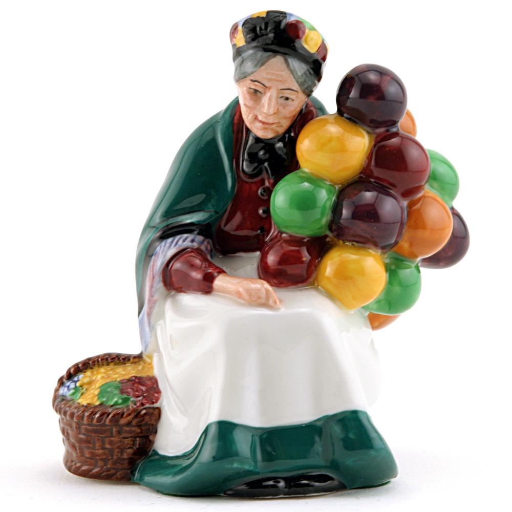 Old Balloon Seller HN2129 - Mini - Royal Doulton Figurine