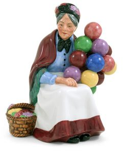 Old Balloon Seller HN3737 - Royal Doulton Figurine