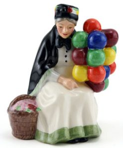 Old Balloon Seller HN4809 - Royal Doulton Figurine