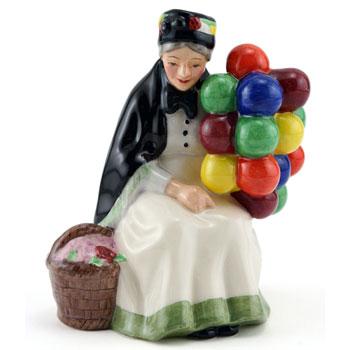 Old Balloon Seller HN4809 - Royal Doulton Figurine