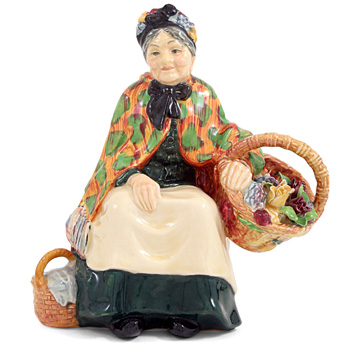 Old Lavender Seller HN1492 - Royal Doulton Figurine