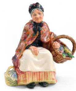 Old Lavender Seller HN1571 - Royal Doulton Figurine