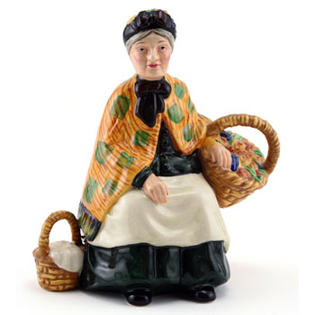 The Old Lavender Seller HN4937 - Royal Doulton Figurine