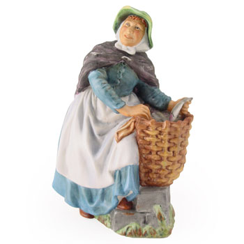 Old Meg HN2494 - Royal Doulton Figurine