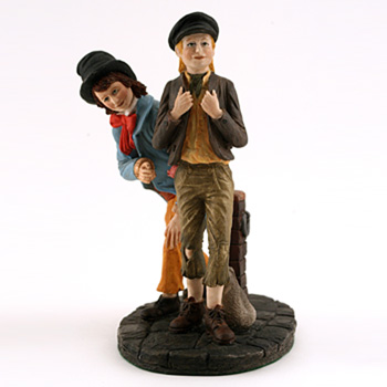 Oliver Twist and Artful Dodger HN3786 - Royal Doulton Figurine