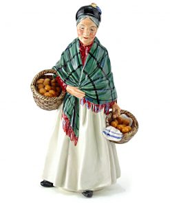 Orange Lady HN1953 - Royal Doulton Figurine