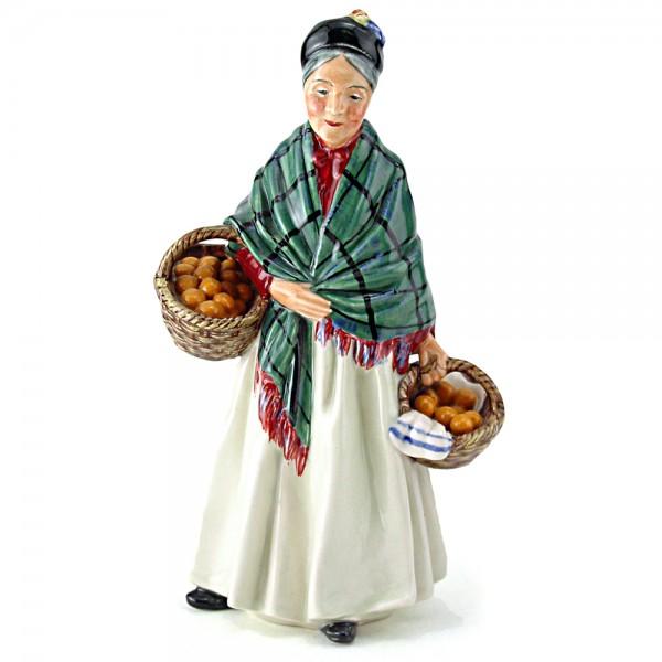 Orange Lady HN1953 - Royal Doulton Figurine