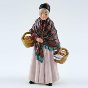 Orange Lady HN4810 - Royal Doulton Figurine