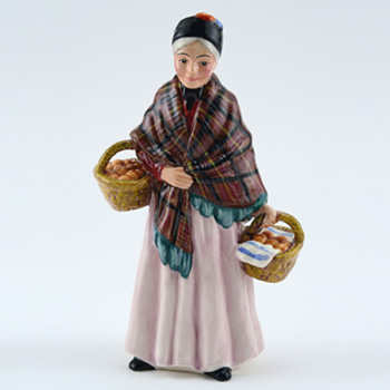 Orange Lady HN4810 - Royal Doulton Figurine