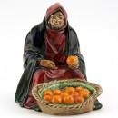 Orange Vendor HN1966 - Royal Doulton Figurine
