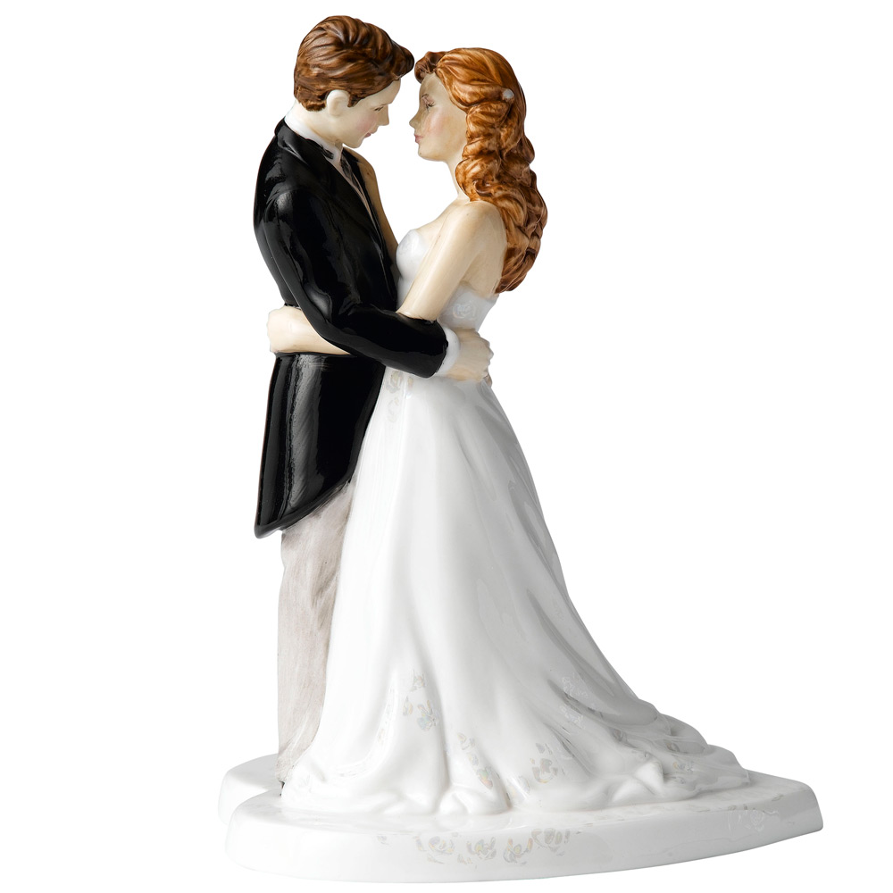 Our Wedding Day HN5037 (Cake Topper) - Royal Doulton Figurine