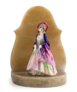 Paisley Shawl M4 on Bookend - Royal Doulton Figurine