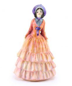 Pauline Color Variation (Orange) - Royal Doulton Figurine