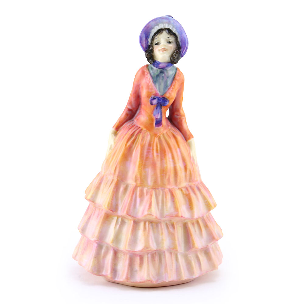 Pauline Color Variation (Orange) - Royal Doulton Figurine