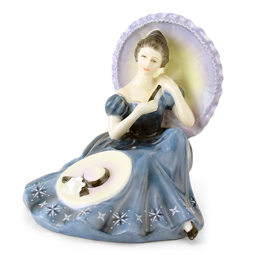 Pensive Moment HN2704 - Royal Doulton Figurine