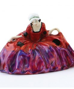 Polly Peachum Rare Color Variation (Purple, red) - Royal Doulton Figurine