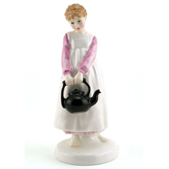 Polly Put The Kettle On HN3021 - Royal Doulton Figurine