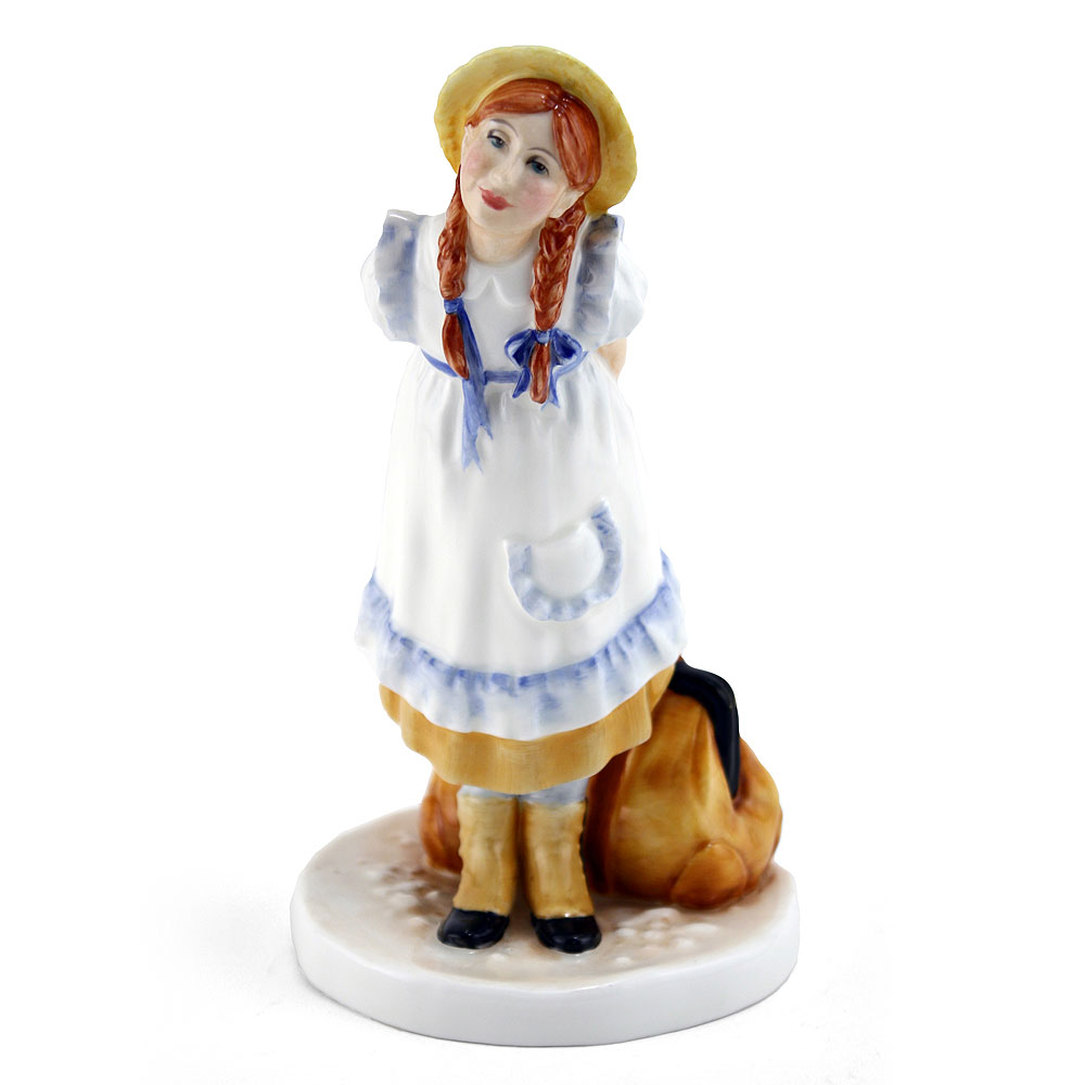 Pollyanna (Color Variation, Yellow) - Royal Doulton Figurine