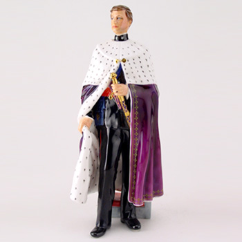 Prince of Wales HN2883 - Royal Doulton Figurine