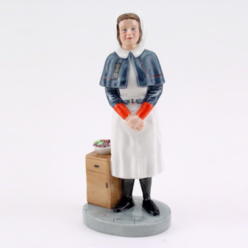 Queen Alexandra Nurse HN4596 - Royal Doulton Figurine