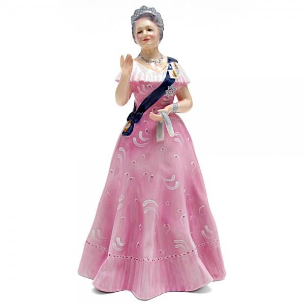 Queen Elizabeth Queen Mother HN2882 - Royal Doulton Figurine