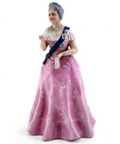 Queen Elizabeth HN2882 (Factory Sample) - Royal Doulton Figurine