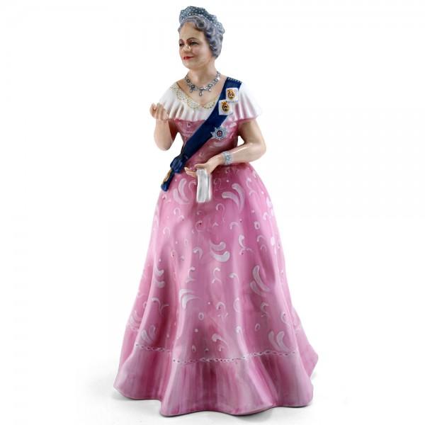 Queen Elizabeth HN2882 (Factory Sample) - Royal Doulton Figurine