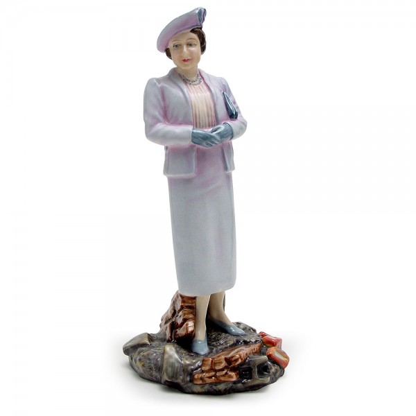 Queen Elizabeth Queen Mother HN3944 - Royal Doulton Figurine
