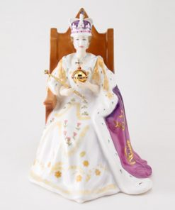 Queen Elizabeth II HN4476 - Royal Doulton Figurine