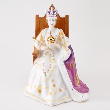 Queen Elizabeth II HN4476 - Royal Doulton Figurine